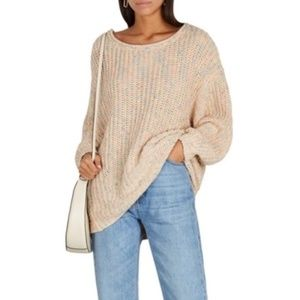 NWT Free People Neon Lights Pullover Sweater Small